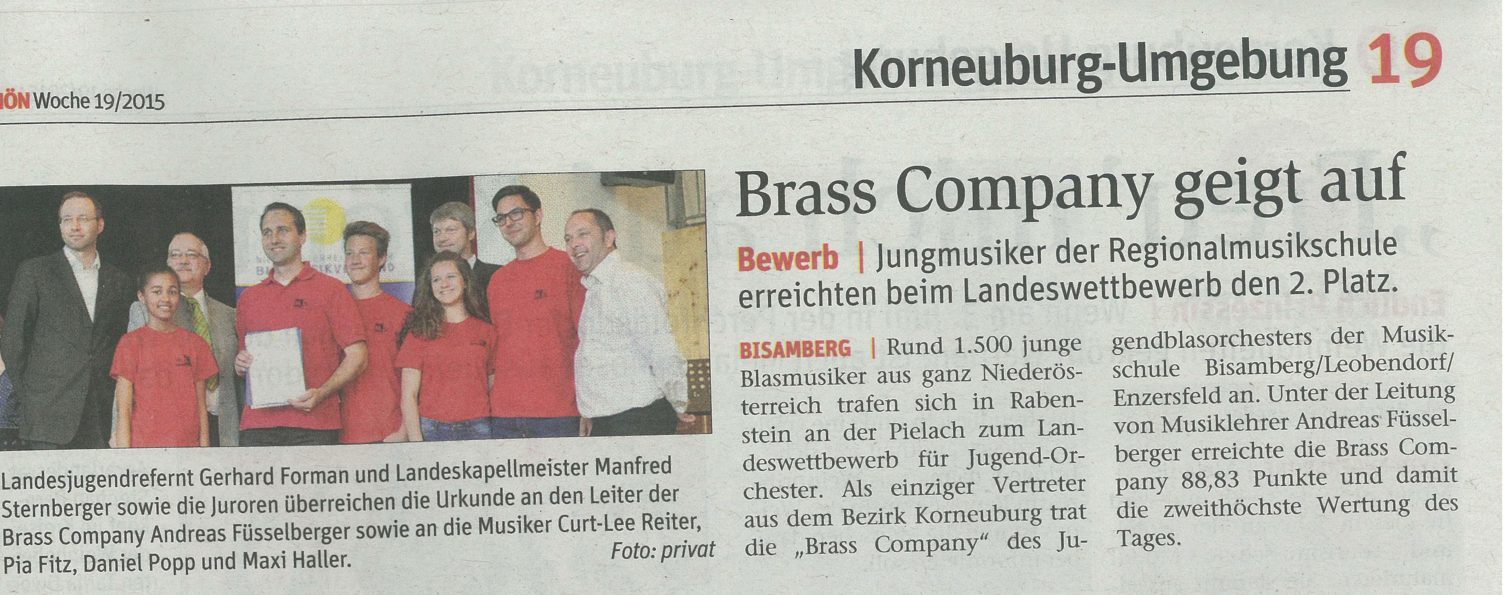 Brass Comapny Rabenstein