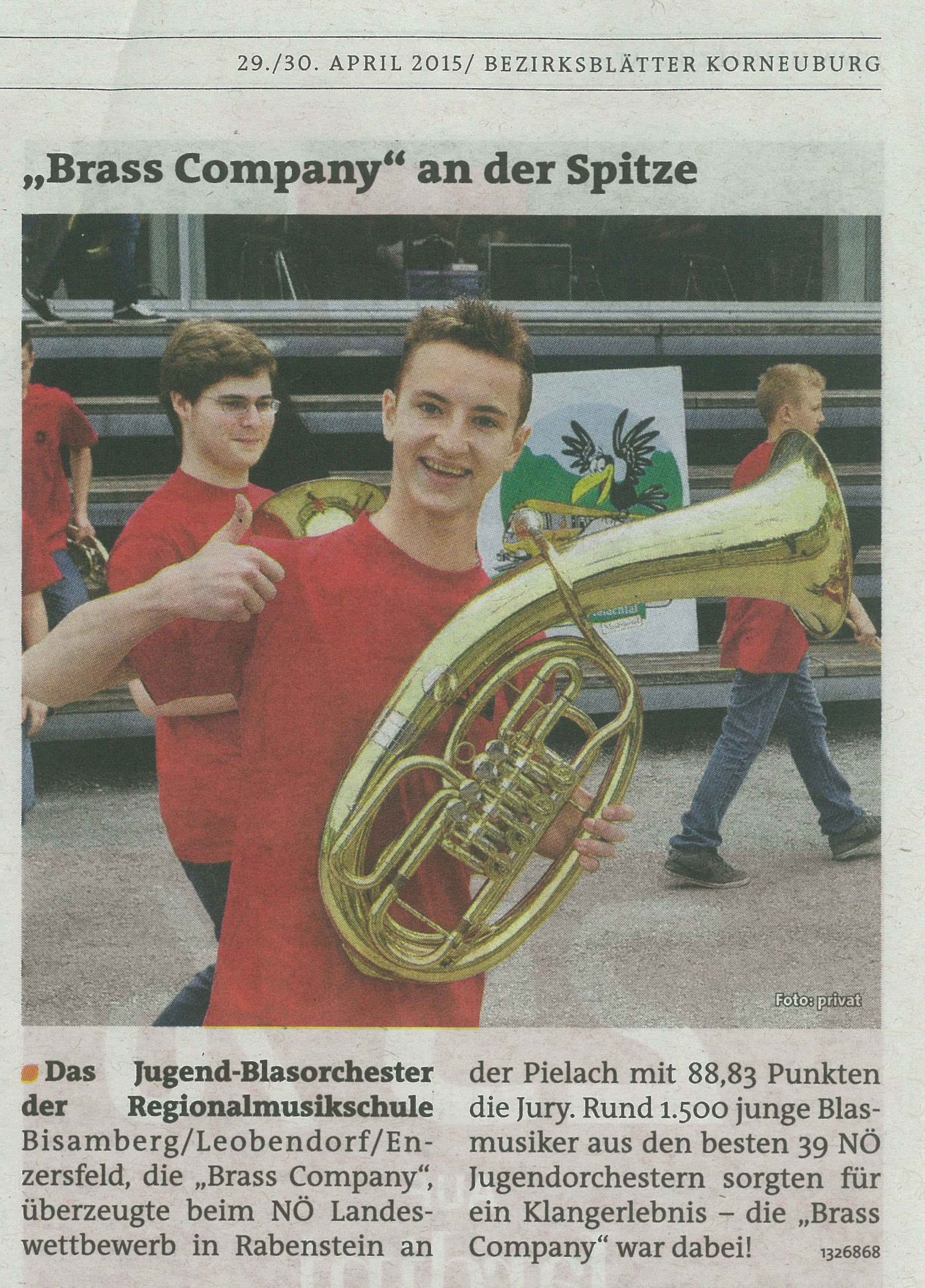 Brass Company Wettbewerb