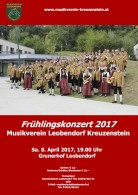 Frühlingskonzert Plakat 2017