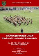Frühlingskonzert Plakat